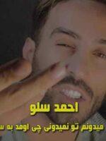 دانلود آهنگ نگو میدونم تو نمیدونی چی اومد به سرم احمد سلو