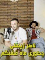 دانلود آهنگ چطوری ماه قشنگم تورو میخواد دلتنگم ناصر زینعلی