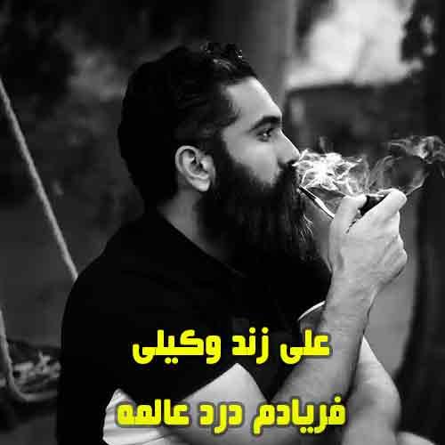 دانلود آهنگ فریادم درد عالمه علی زند وکیلی
